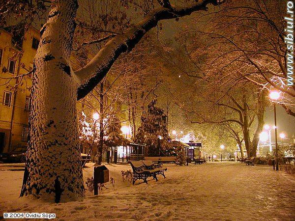 Noaptea in Sibiu