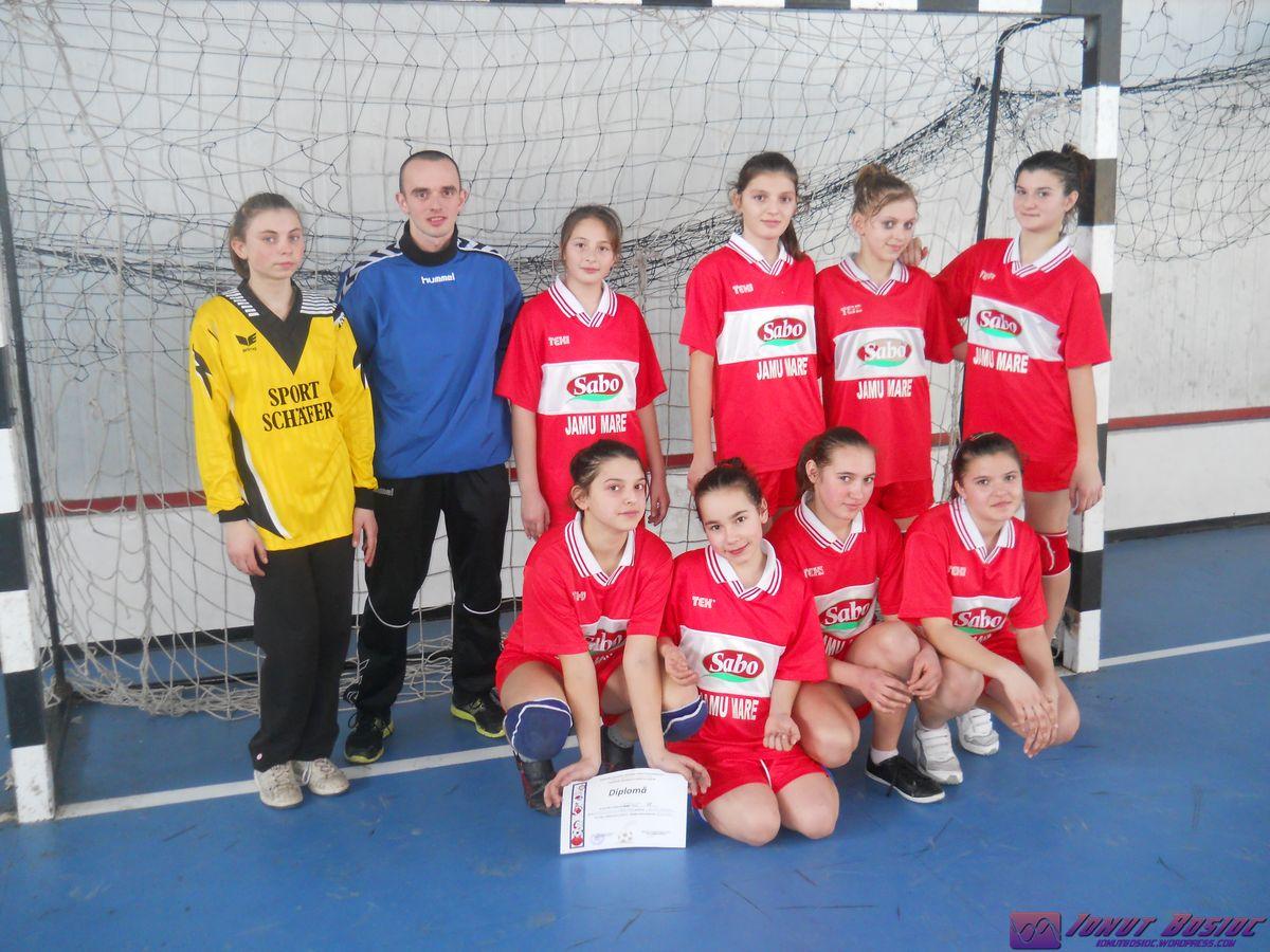 echipa handbal Jamu Mare