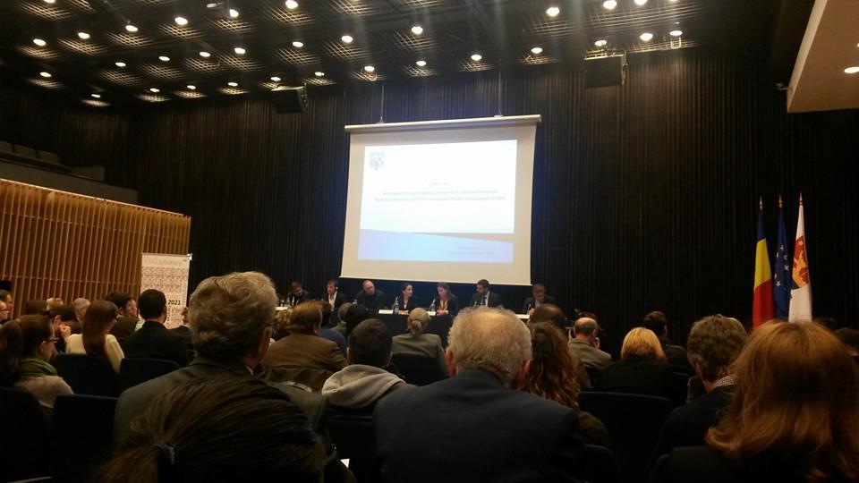 Conferinta timisoara Capitala Culturala Europeana 2021