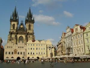Old Town Square Praga