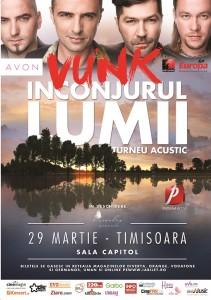 Afis VUNK Timisoara