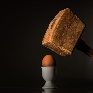 egg-hammer-threaten-violence-fear-intimidate-hit