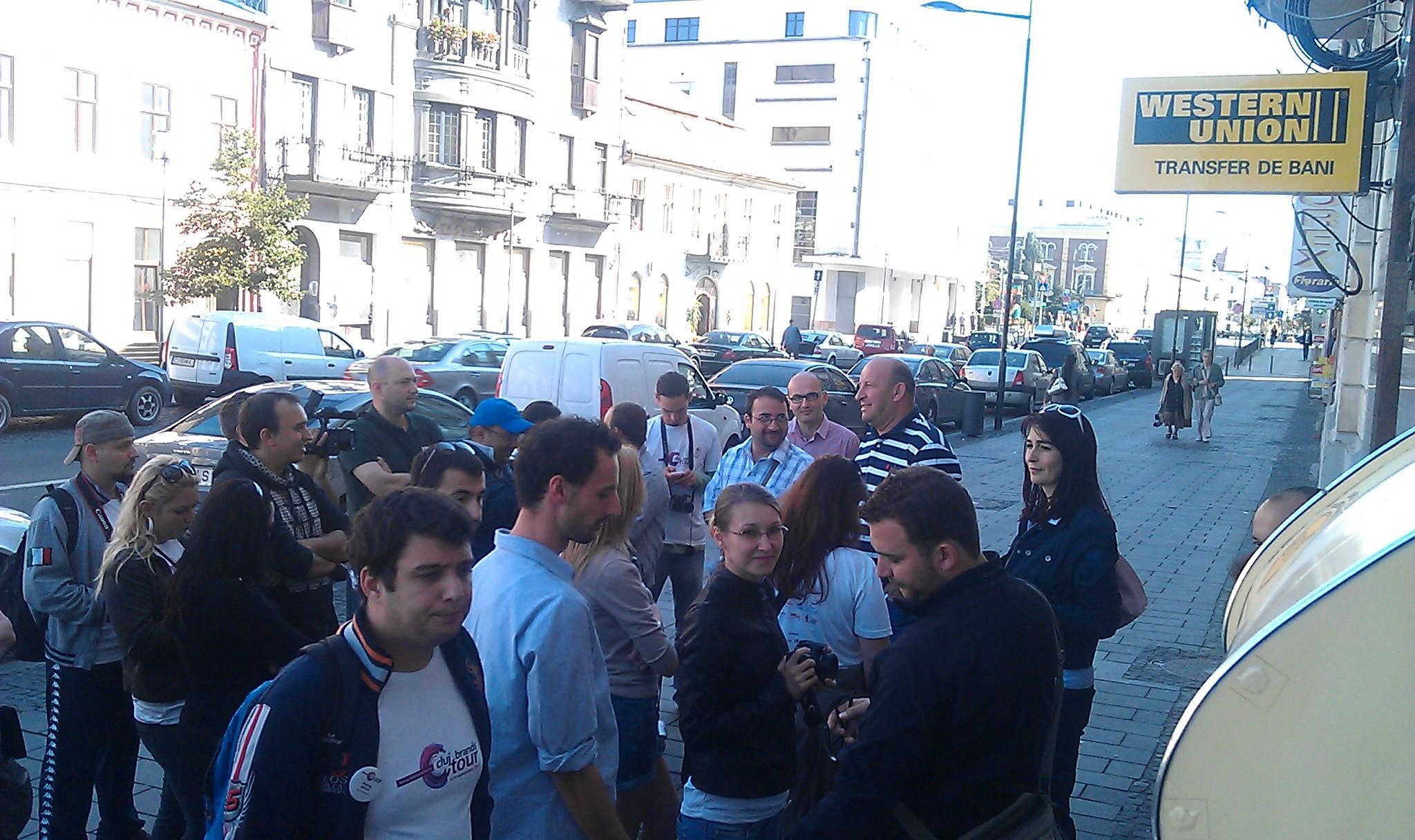 Bloggeri la Banca Transilvania
