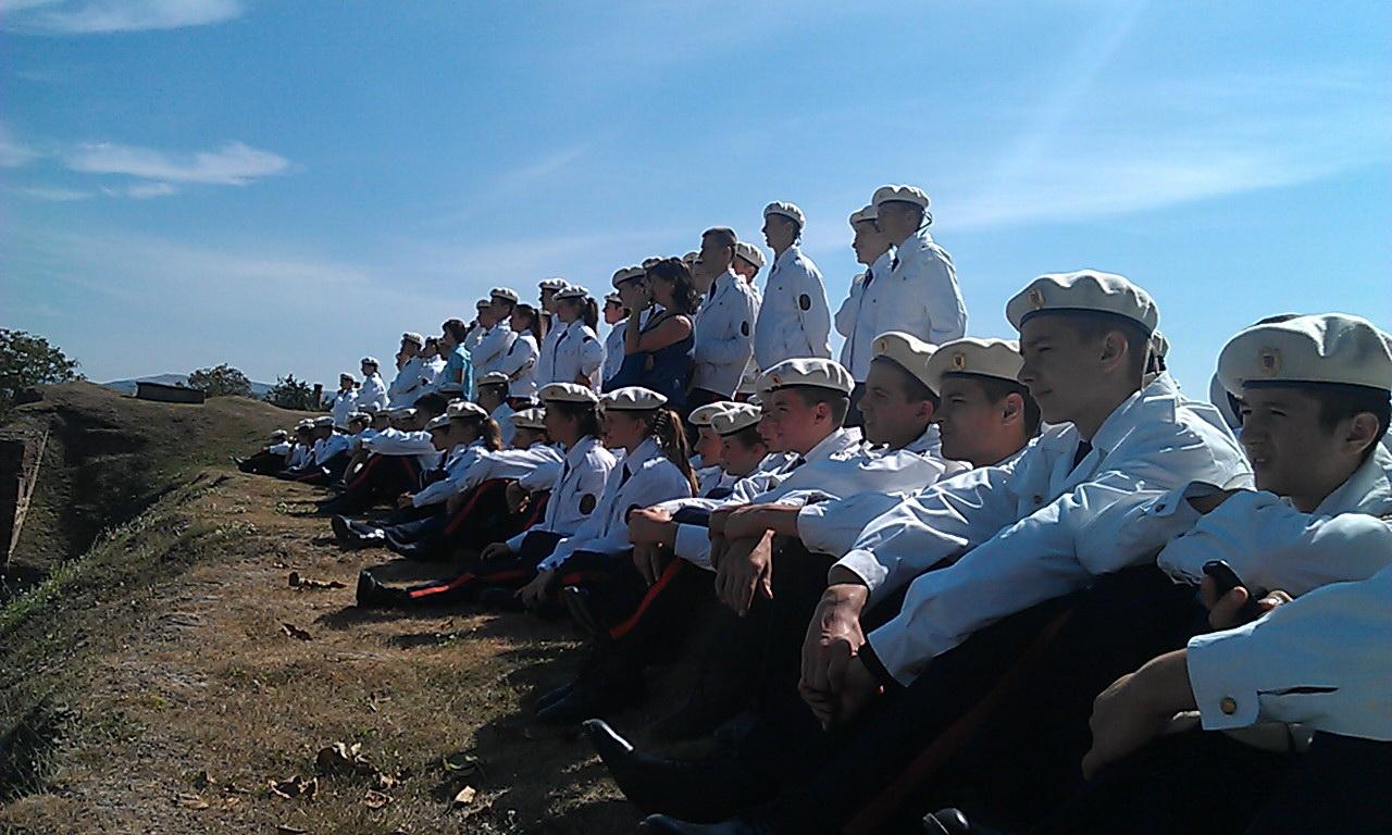 Elevi ai Scolii Militare Alba Iulia