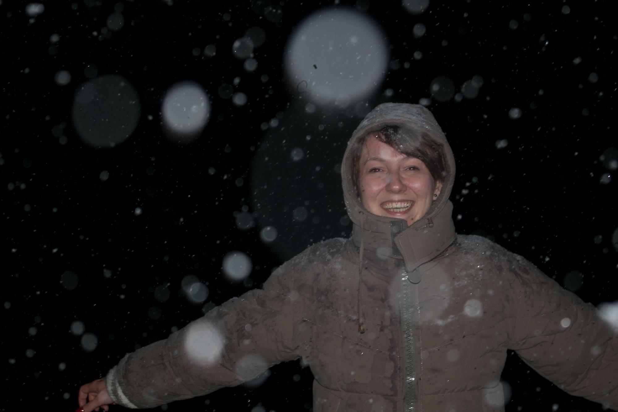 Nebuloasa in ninsoare