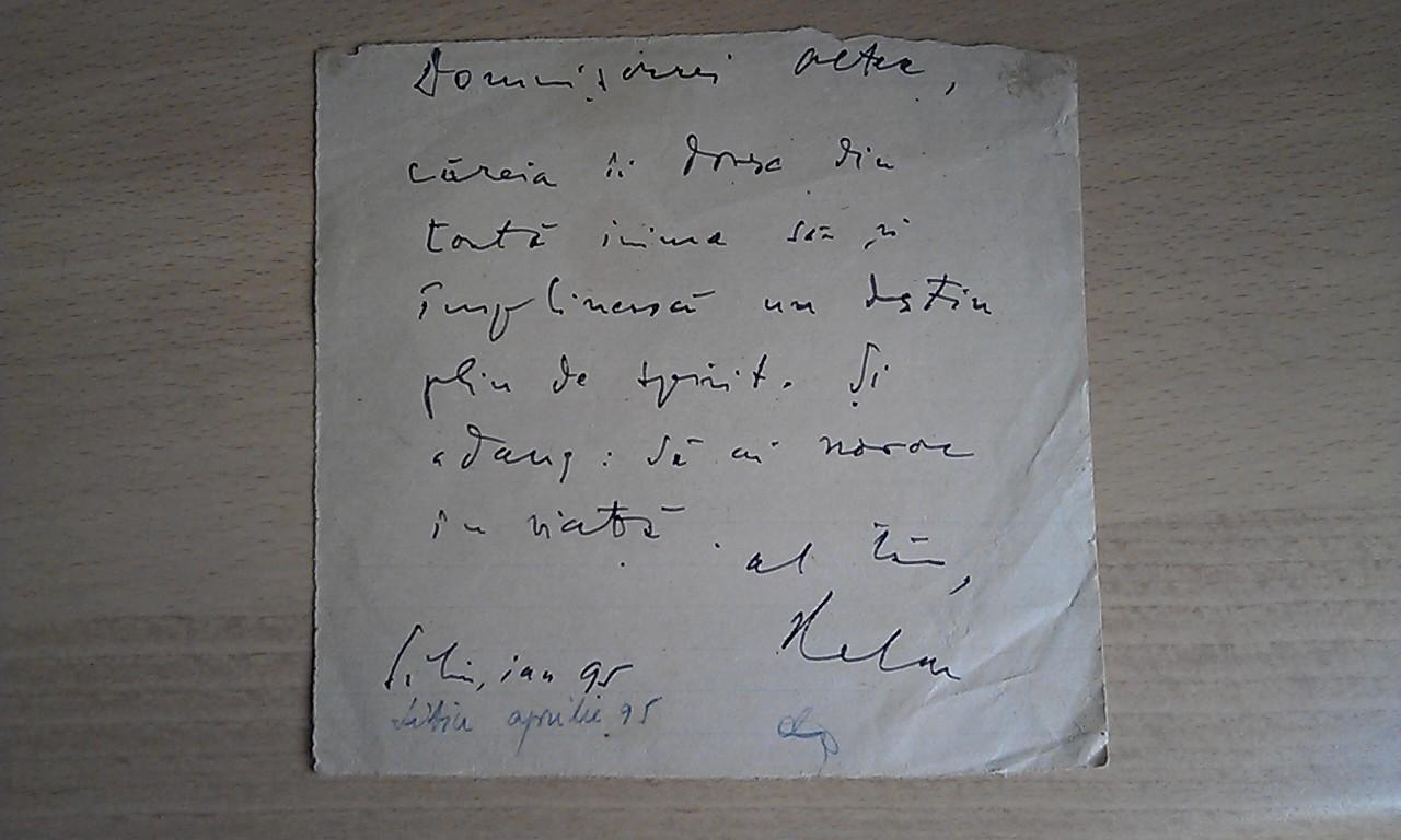Aurel Cioran, ganduri