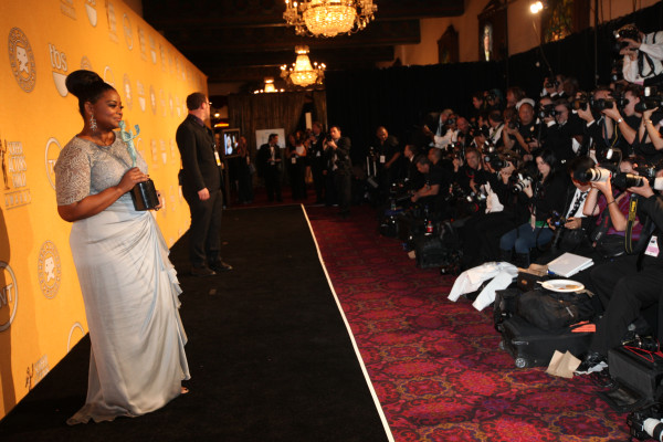 Coverage of the 2012 Screen Actors Guild Awards on TNT. photo:Jeremy Freeman