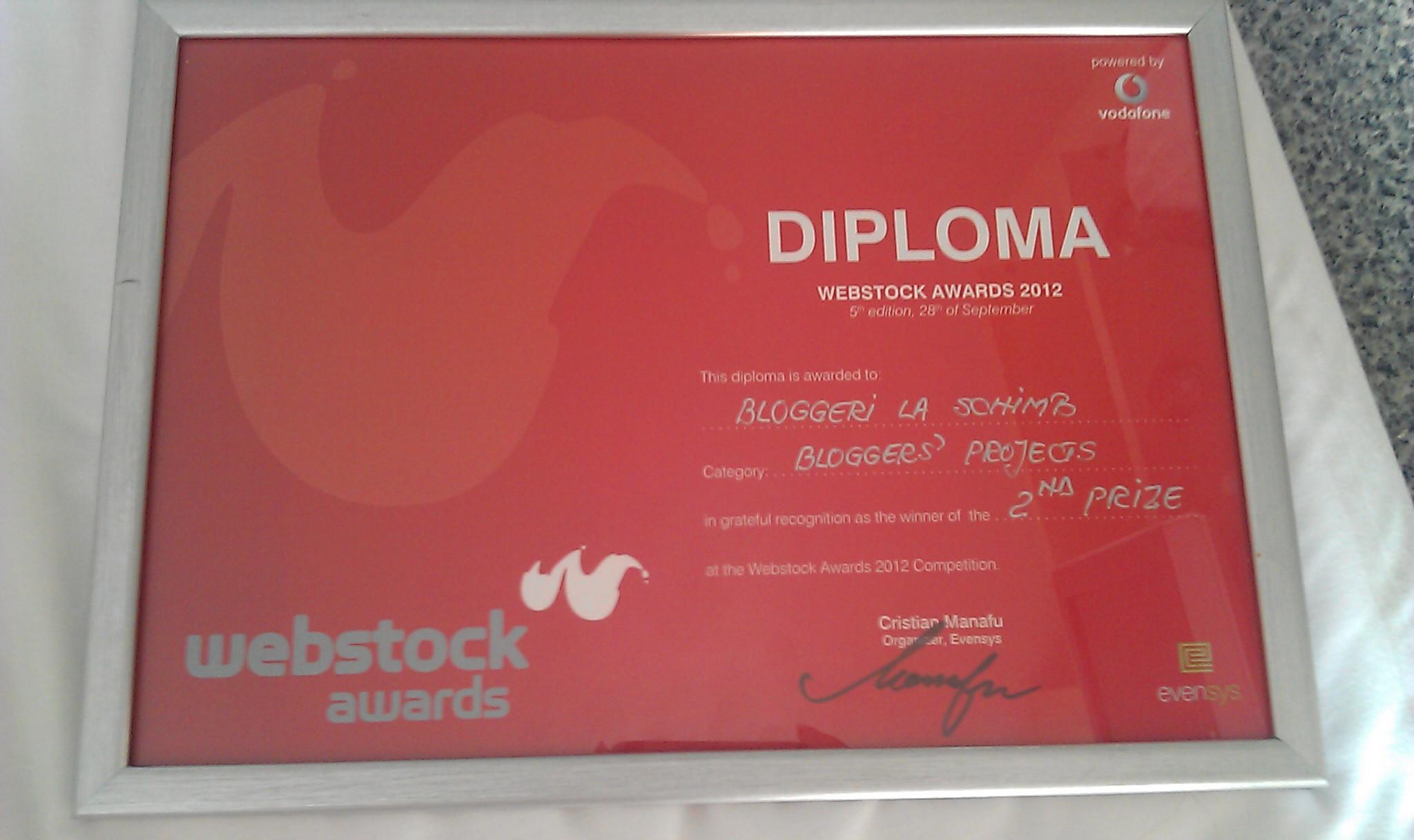 Bloggeri la schimb locul 2 Webstock 2012
