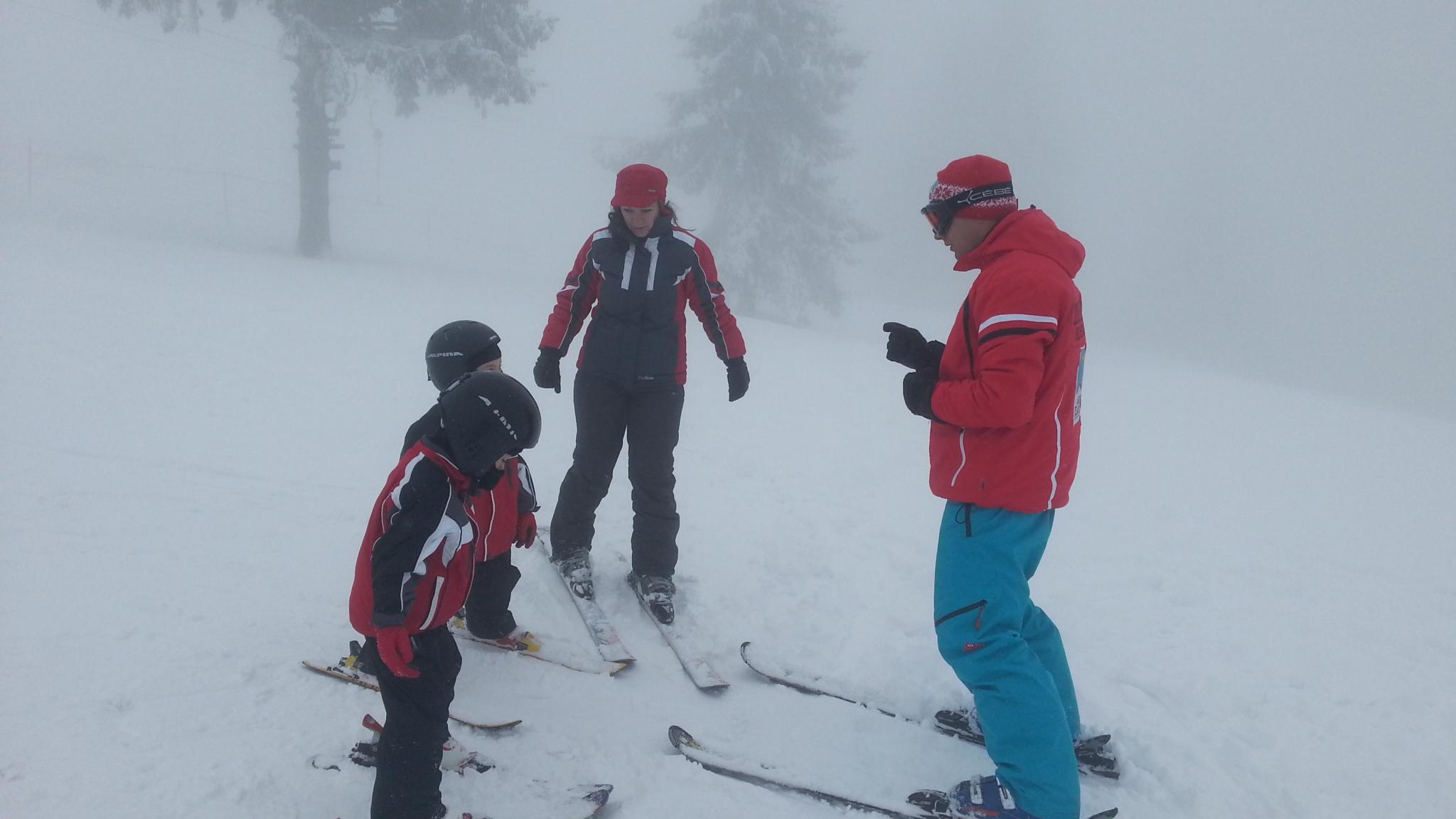 Marius Stoian instructor schi Arena Platos