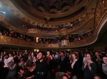 sala teatru aplauze
